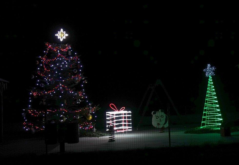Vánoční strom 2020 v Kopřivné