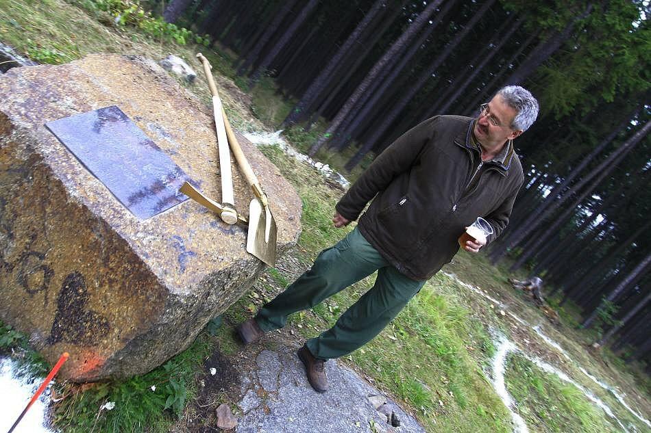 Zahájení stavby rozhledny na Velkém Kosíři