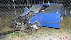 Dopravní nehoda mezi Olšany u Prostějova a Lutínem. Tři zraněné museli záchranáři převézt do nemocnice.
