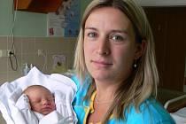 Aneta Šinová s maminkou Martinou, Čechy pod Kosířem, narozena 19. září, 48 cm, 2750 g