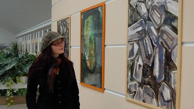 Výstava výtvarníka Ladislava Grossmanna