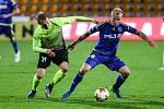 Utkání 13. kola FNL mezi FC Vysočina Jihlava a 1. SK Prostějov.