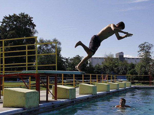 Na plovárně ve Vrahovicích - září 2011