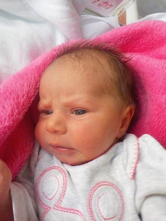 Alena Přikrylová, Hrušovany u Brna, narozena 22. dubna 2021 v Prostějově, míra 48 cm, váha 2750 g
