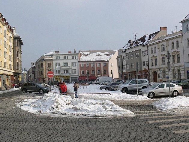 Náměstí Edmunda Husserla v Prostějově
