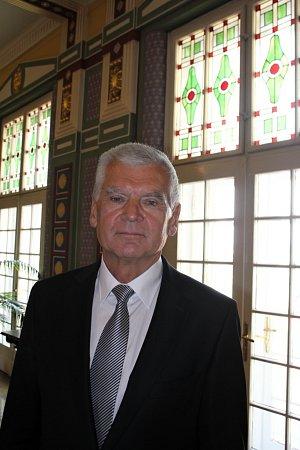 Předávání cen města Prostějova za rok 2011 - Bohumil Hruban