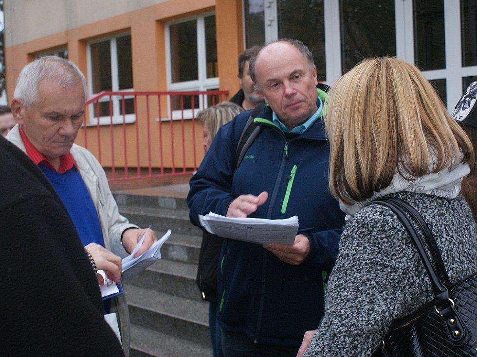 Setkání petentů ve Studentské ulici v Prostějově - 20. října 2016