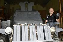 Jedním z vystavených modelů bude i tento obrněný vůz německého Wehrmachtu.