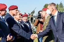 V Prostějově se sešli výsadkoví veteráni z Čech a Slovenska