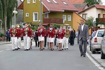 Slavnostní otevření nové silnice v Otaslavicích
