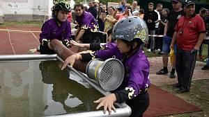 Závěrečný závod Okresní dětské ligy Prostějovska v hasičském sportu v Krasicích