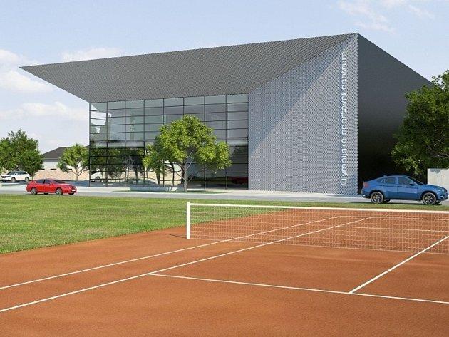 Vizualizace - Budoucí podoba Národního olympijského centra v Prostějově