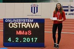 Prostějovská atletka Anežka Líznerová.