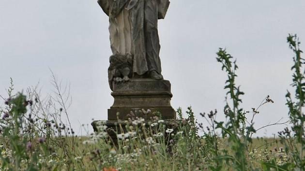 Bezhlavá socha sv. Jana Evangelisty