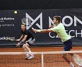Jiří Veselý a Jiří Lehečka vyřadili v semifinále čtyřhry pár Molčanov - Zelenay.