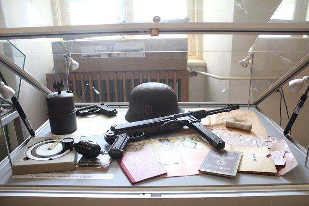 Plumlovský zámek - Výstava snázvem Konec druhé světové války na Prostějovsku