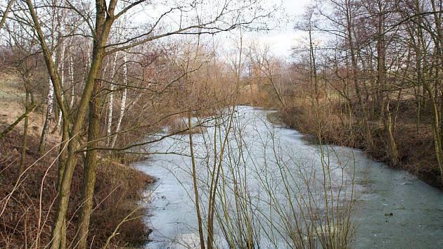 Údolí Kelčického potoka s přírodní rezervací Blátka