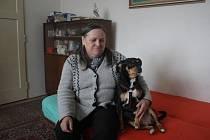 Blanka Faltýnková v domě svých rodičů.