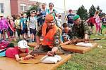 Děti ze základní školy ve Vrbátkách na návštěvě u 153. ženijního praporu v Olomouci