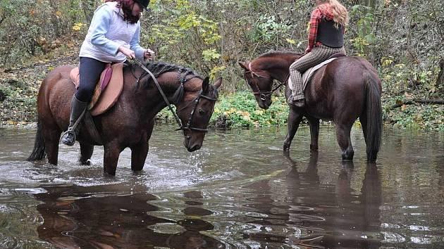 Hubertova jízda v Cavalu