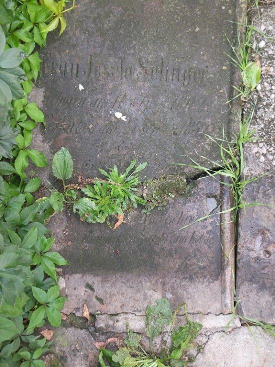 Nalezené židovské náhrobky v Žešově
