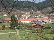 Pohled na Holštejn