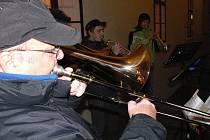 Žesťový kvintet - koncert z lodžie muzea