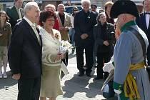 Prostějovský rodák Otokar Hořínek slavil se svou ženou Naďou diamantovou svatbu