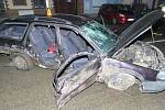 Nehoda v Drozdovické ulici v Prostějově