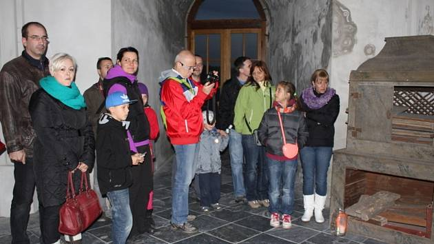 Do doby 16. století se mohli tuto sobotu přenést návštěvníci plumlovského zámku.
