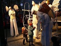 Rozsvěcení vánočního stromu v Prostějově