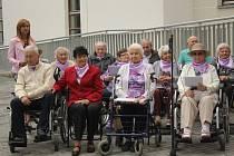 Slavnostní otevření domova se zvláštním režimem pro seniory trpící Alzheimerovou chorobou, chráněného bydlení a odlehčovací služby pro seniory a lidi se zdravotních postižením v areálu Centra sociálních služeb
