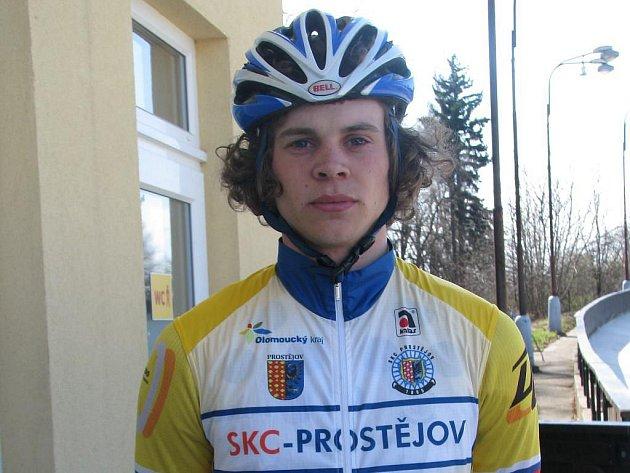 Cyklista Jakub Filip