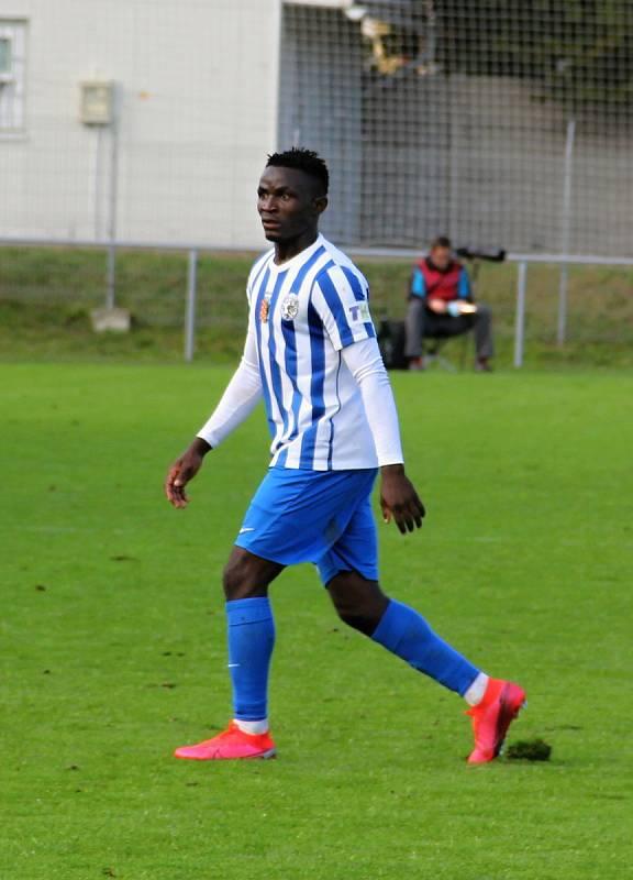 Prostějov prohrál ve 3. kole poháru doma s Bohemians 0:4. Solomon Omale