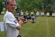 Kušista Bohumil Korbař skončil v roce 2015 pátý na MS ve střelbě z polní kuše. Ilustrační foto