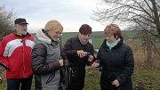 Občané Vrchoslavic a okolních obcí se na Nový rok potkali u rybníka Lopaťák.