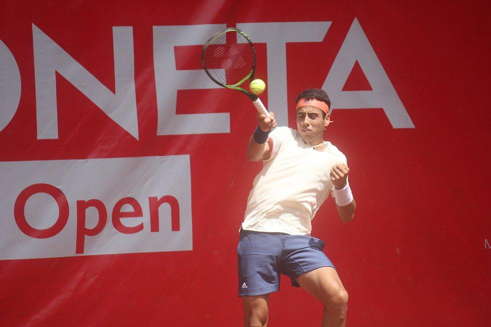 Finále Czech Open v Prostějově. (Jaume Munar)