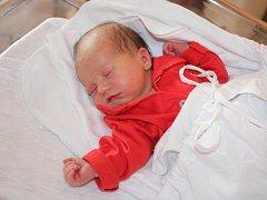Karolína Divilová, Prostějov, narozena 12. srpna, 50 cm, 3150 g