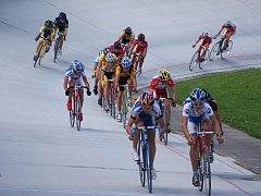 Dráhová cyklistika. Ilustrační foto