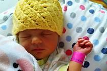 Patricie Tesařová, Náměšť na Hané, narozena 21. března 2020, míra 48 cm, váha 2610 g