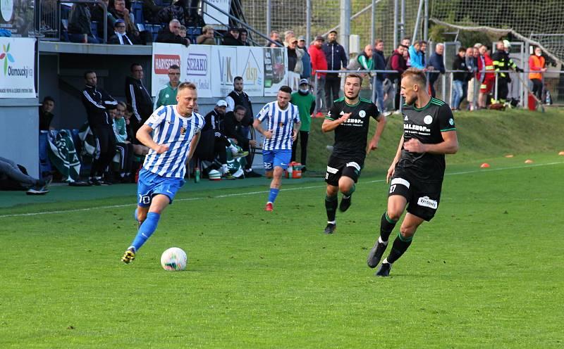 Prostějov prohrál ve 3. kole poháru doma s Bohemians 0:4. Jan Koudelka