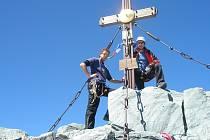 Prostějovští horolezci v akci