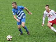 Fotbal, MSFL, 8. kolo: 1. SK Prostějov – TJ Valašské Meziříčí 4:1 (0:1) Josef Pančochář (Prostějov)
