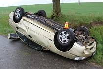 Smyk byl příčinou nehody mezi Stařechovicemi a Kostelcem na Hané.