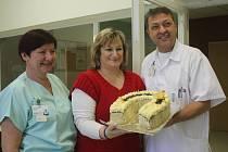 Poděkování prostějovské nemocnici za záchranu života