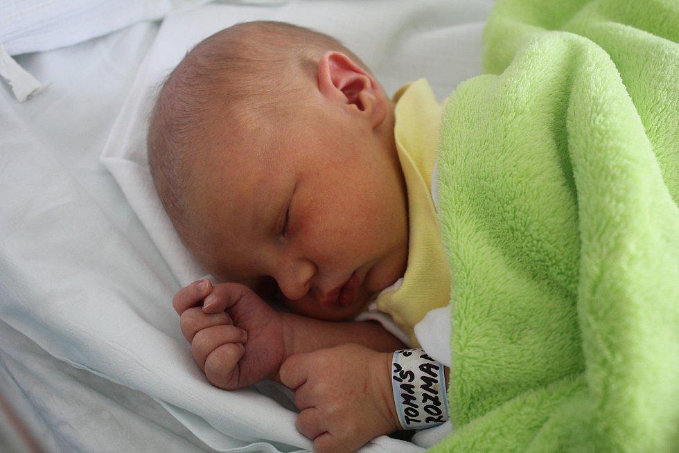 Tomáš Rozman, Hluchov, narozen 15. října 2019 v Prostějově, míra 49 cm, váha 3300 g