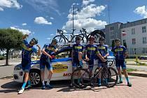 Mezinárodní závody v Polsku se neobešly bez cyklistů Tufo Pardus Prostějov
