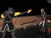 Za svitu loučí a luceren se na plumlovském zámku konaly noční prohlídky