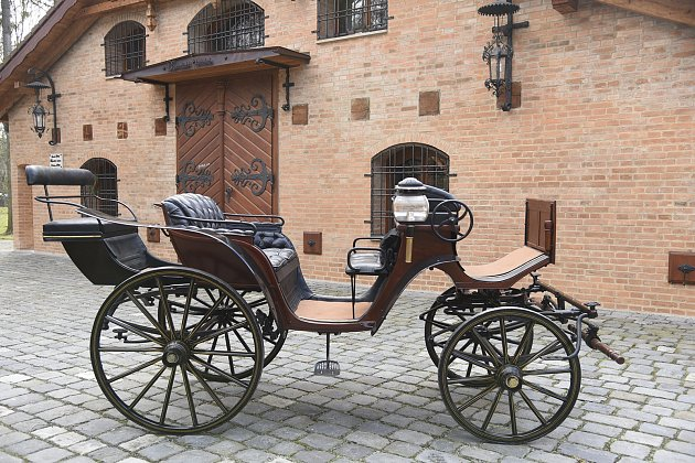 Muzeum kočárů vČechách pod Kosířem