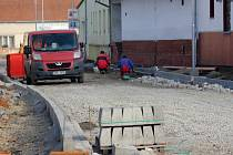 Oprava Tovární ulice v Bedihošti